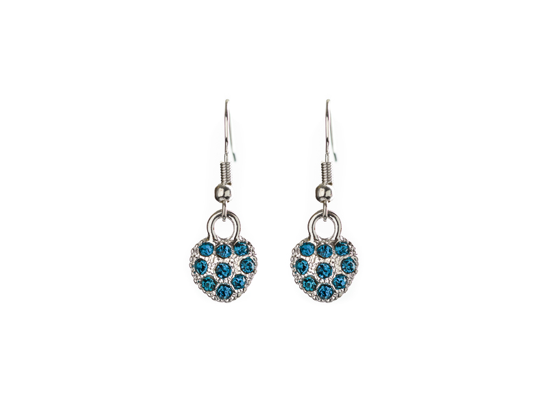 Earrings E25 Blue