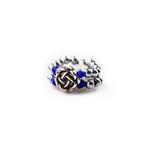 Rings R163 Blue