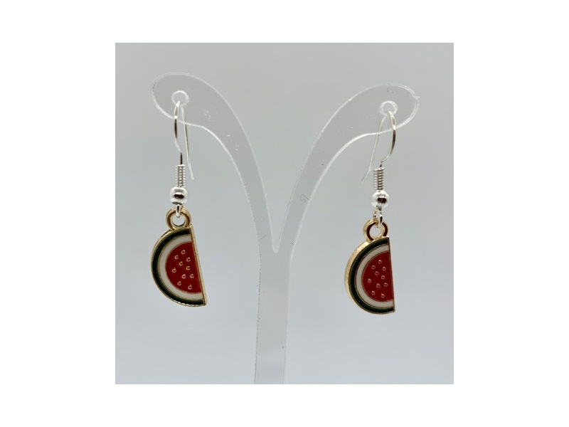 Product standard watermelon earrings